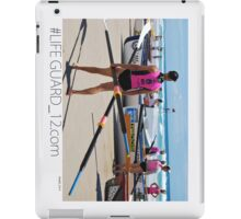 Lifeguard Hut Number 12 iPad Case/Skin