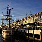 Tall ships Hobart by Bryan Cossart