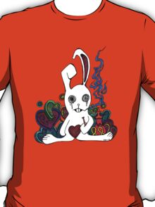 Hookah Smoking Rabbit T-Shirt
