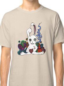 Hookah Smoking Rabbit Classic T-Shirt