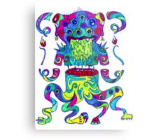 Sliced Monster Metal Print