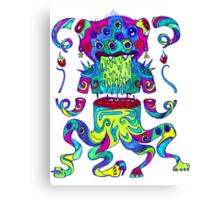 Sliced Monster Canvas Print