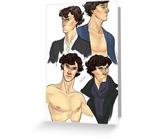 Sherlocks Greeting Card