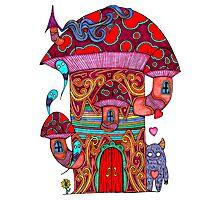 Mushroom House III Photographic Print