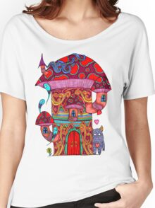 Mushroom House III Women's Relaxed Fit T-Shirt