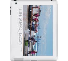 Lifeguard Hut Number 12 P2 iPad Case/Skin
