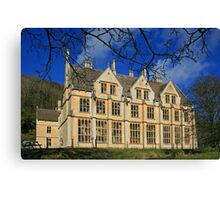 The Unfinished Mansion Canvas Print