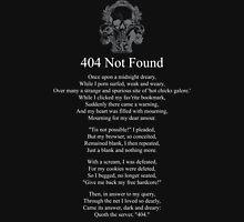 404 Not Found Unisex T-Shirt