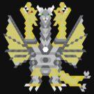 Mecha-King Ghidorah by Joshua  Smyth
