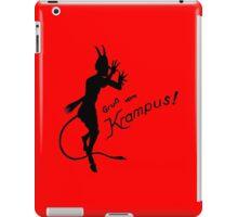 Krampus 24 Black iPad Case/Skin