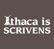 Ithaca Ivy League (WHITE TEXT) Kids Clothes