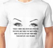 affection 3 Unisex T-Shirt