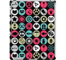 Colorful random elements stylish pattern iPad Case/Skin