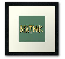 Colorful Beatnik Framed Print