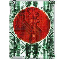 circuit board bangladesh (flag) iPad Case/Skin