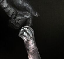 """Hands (Nuturing), 2013"" by Corrina McLaughlin"