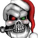 Santa Skull by sensameleon
