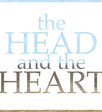 The Head and the Heart Sticker