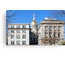 New Jersey Capitol Canvas Print