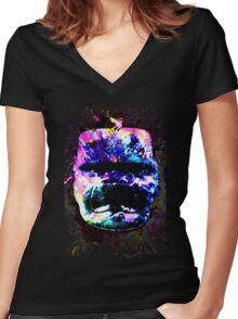 forgotten jade Women's Fitted V-Neck T-Shirt