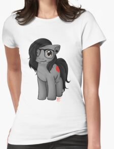 Skrill-Pony Womens Fitted T-Shirt