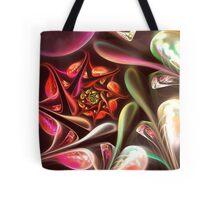 Teardrop Flower Tote Bag
