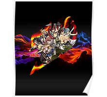 Flaming Fairytail Poster