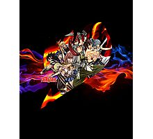 Flaming Fairytail Photographic Print
