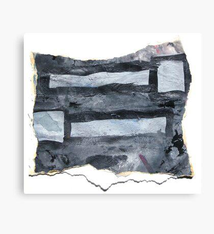 Grey matchsticks Canvas Print