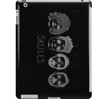 Skulls (with hair detail) iPad Case/Skin
