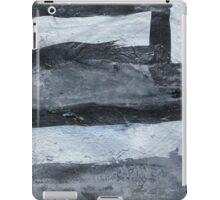 Grey matchsticks iPad Case/Skin