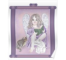 Angel Wings and Cat Tales Poster