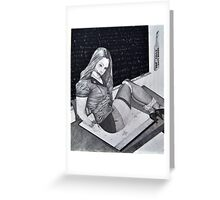 Lessons Learned Greeting Card
