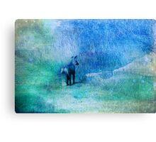 Watercolor Fox Canvas Print
