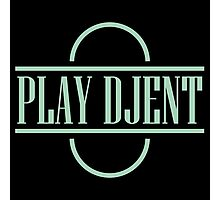 Play Djent Photographic Print