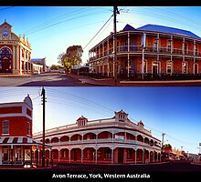 Avon Terrace Diptych  by Paul Amyes