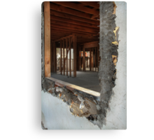 Demolish & Reconstruct Canvas Print