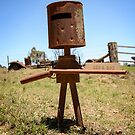Ned Kelly Letter Box by Chris  Randall