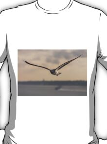 flying bird in Portugal transparent for clothing  T-Shirt