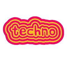 Techno Text Logo by Style-O-Mat