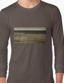 lone surfer Long Sleeve T-Shirt