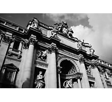 Trevi fountain building Photographic Print