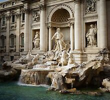 Trevi fountain by Alex Volkoff