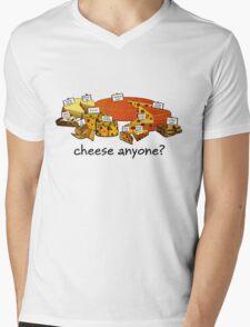 Cheese anyone? Mens V-Neck T-Shirt