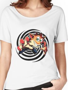 Crash Bandicoot! Women's Relaxed Fit T-Shirt