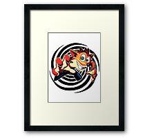 Crash Bandicoot! Framed Print