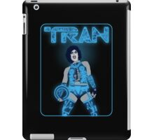 TRAN 2.0 black background variant iPad Case/Skin
