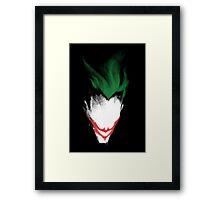 The Dark Joker Framed Print