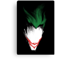 The Dark Joker Canvas Print