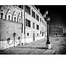 Venetian Cityscape Photographic Print